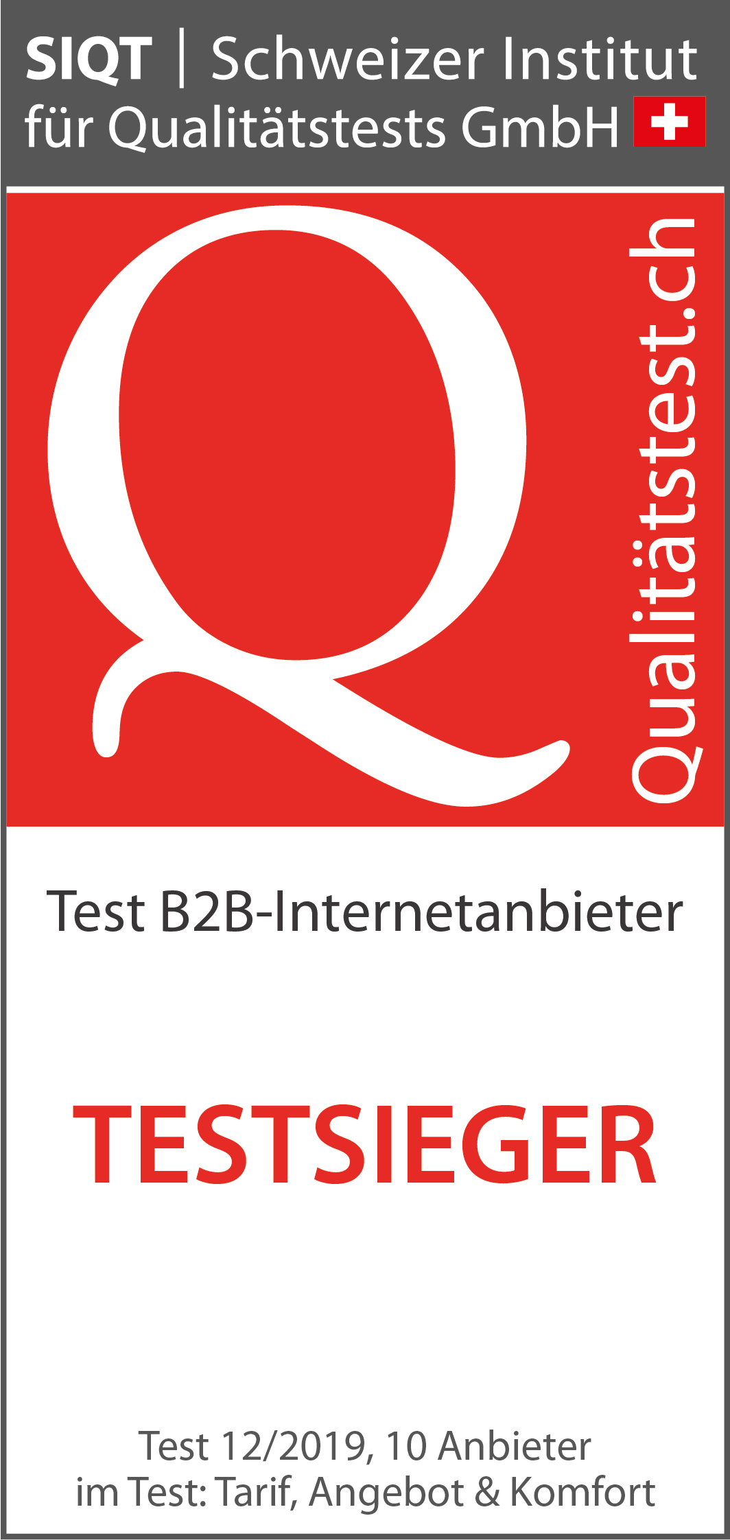 B2B-Internetanbieter im Test